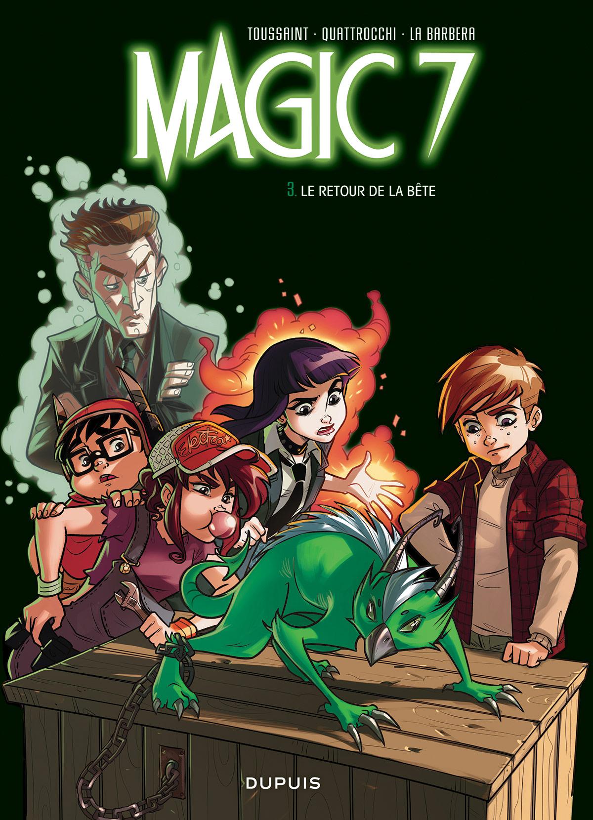 Magic 7, tome 3
