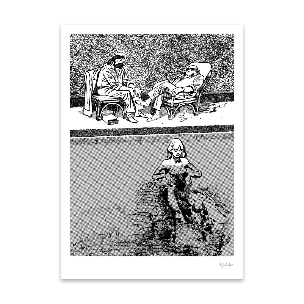 Sérigraphies «Tif et Tondu» de Blutch exclusives ! - 0
