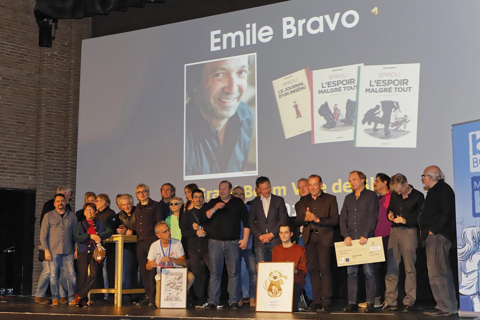 Émile Bravo, Grand Boum 2019 ! - 1