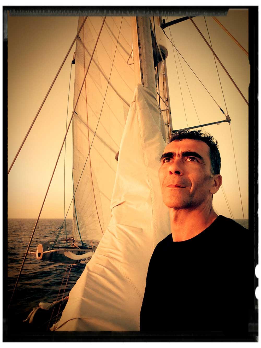 Christian Cailleaux en expédition à bord de la goélette scientifique Tara - 3