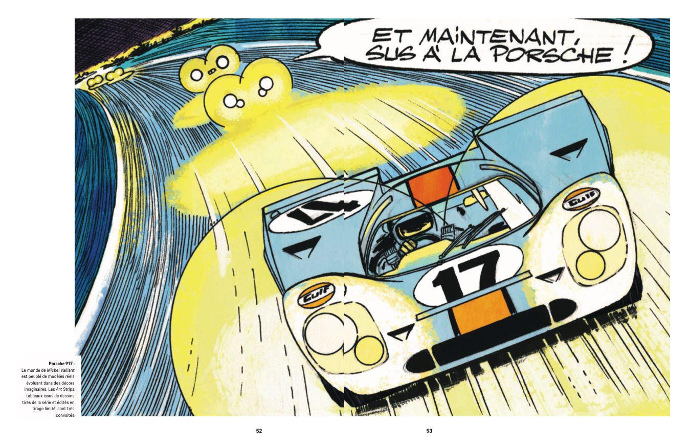 Article sur Michel Vaillant dans la revue Christophorus de Porsche - 3