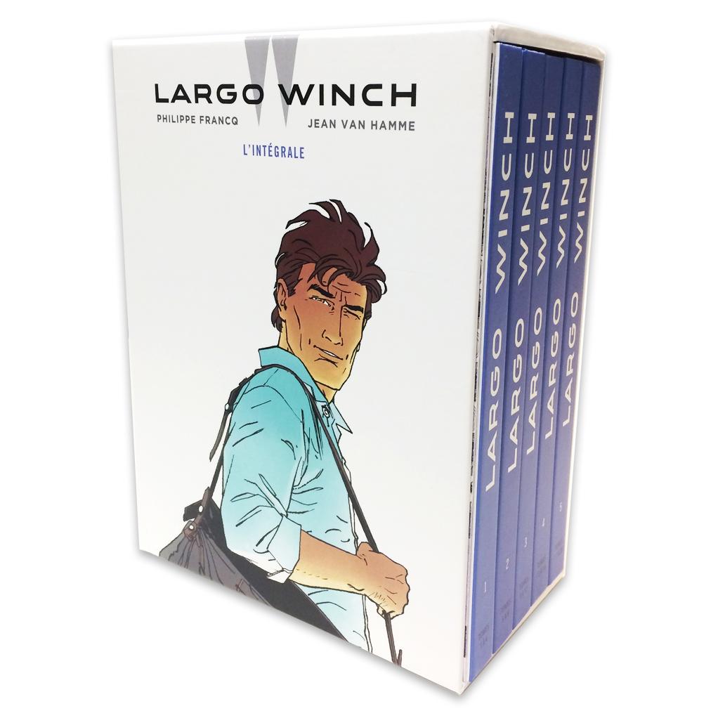 Coffret Intégrale Largo Winch (Francq et Van Hamme) - 0