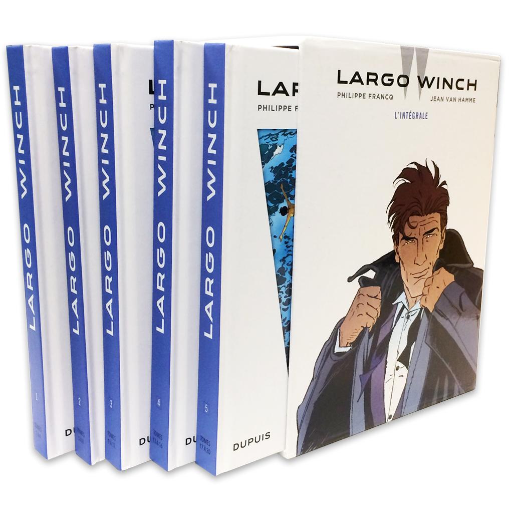 Coffret Intégrale Largo Winch (Francq et Van Hamme) - 1