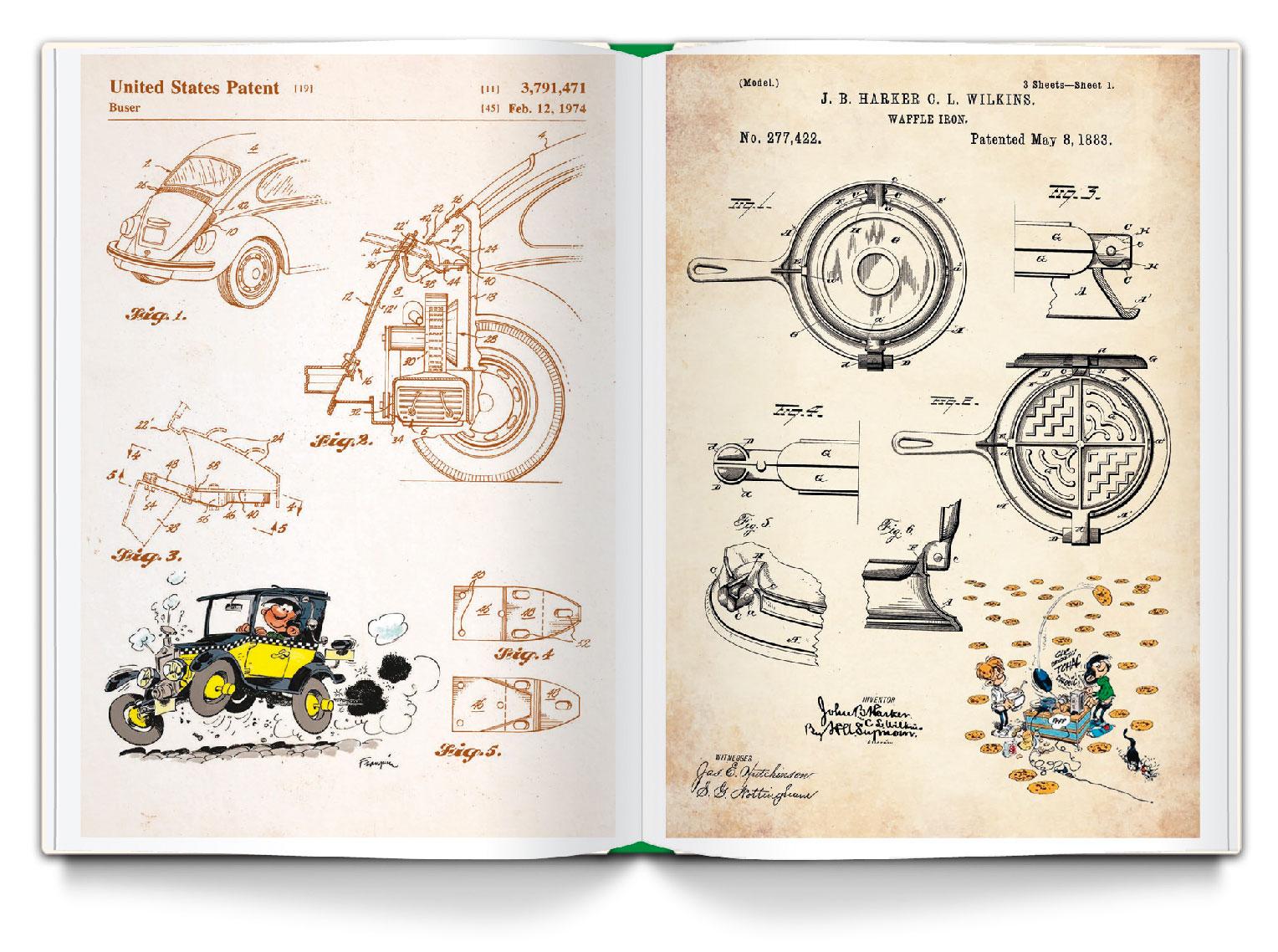 Gaston : Le livre des inventions - 3