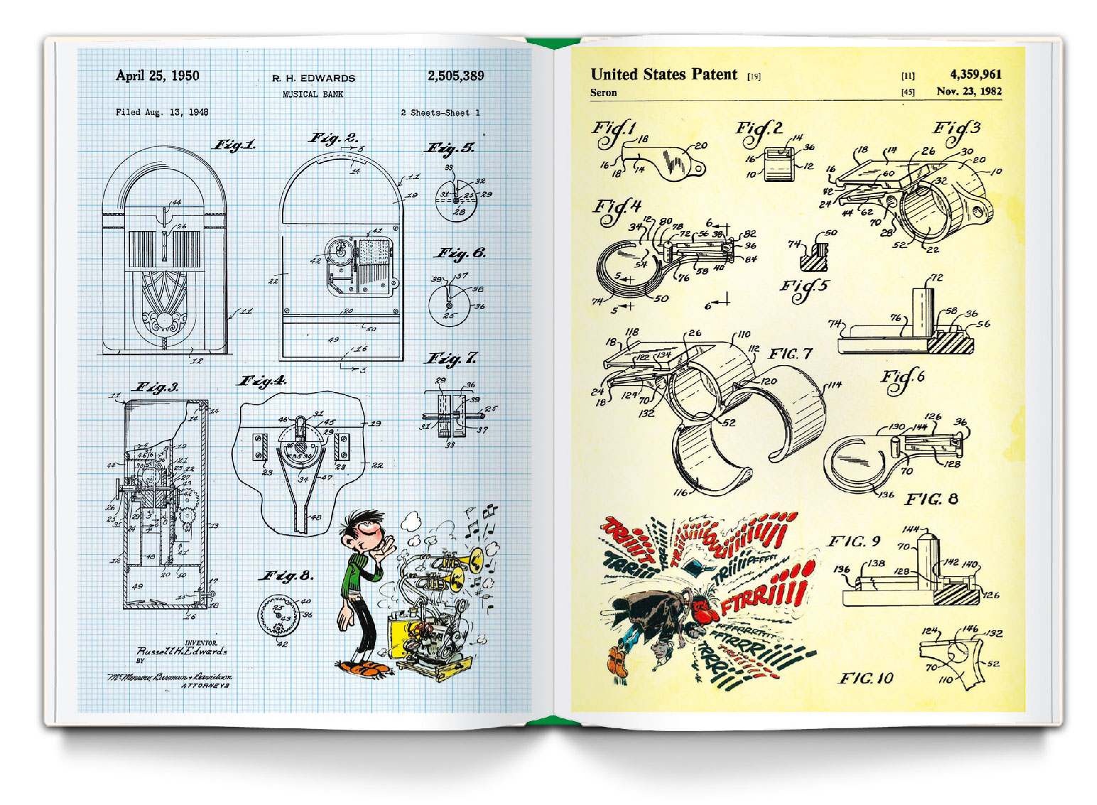 Gaston : Le livre des inventions - 4