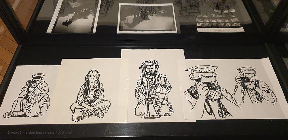 Expo Emmanuel Guibert «Biographies dessinées» - 2