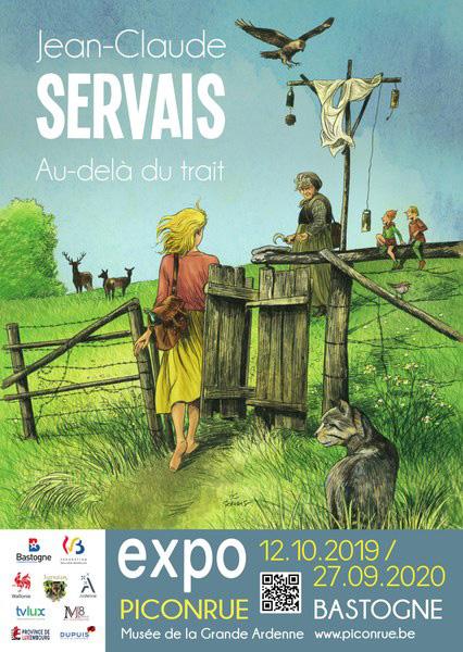 Expo Servais « Au-delà du trait » à Bastogne - 0