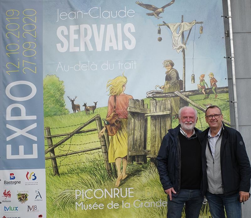 Expo Servais « Au-delà du trait » à Bastogne - 10