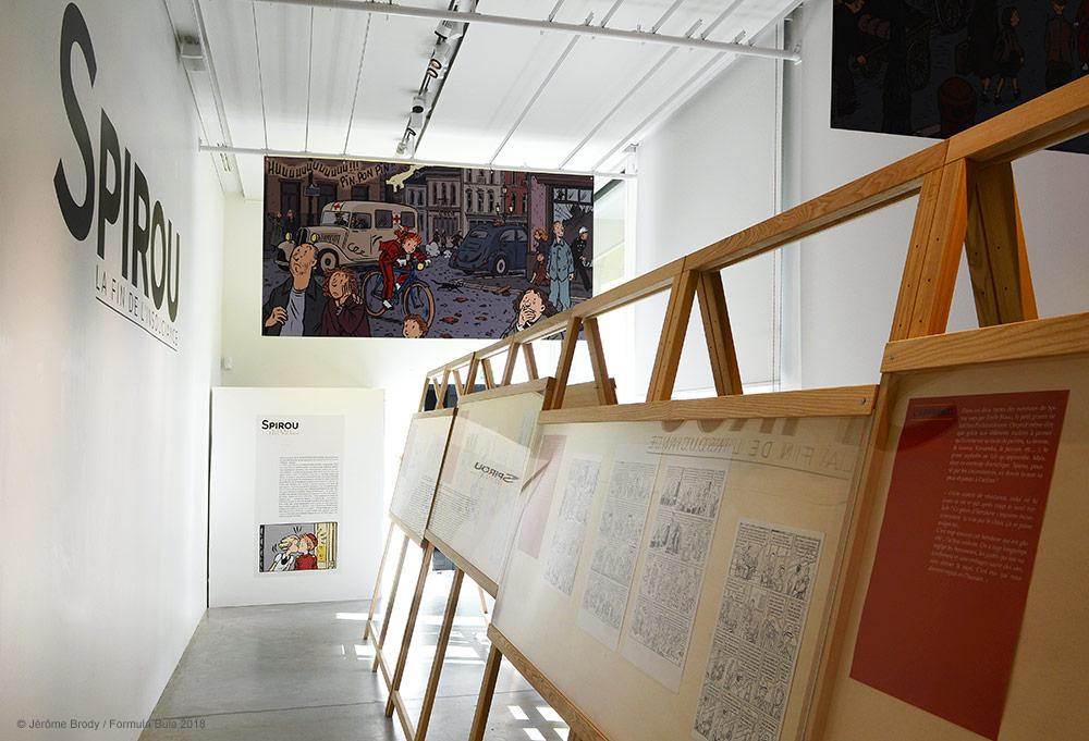 Expo «Spirou, la fin de l'insouciance» d'Émile Bravo - 0
