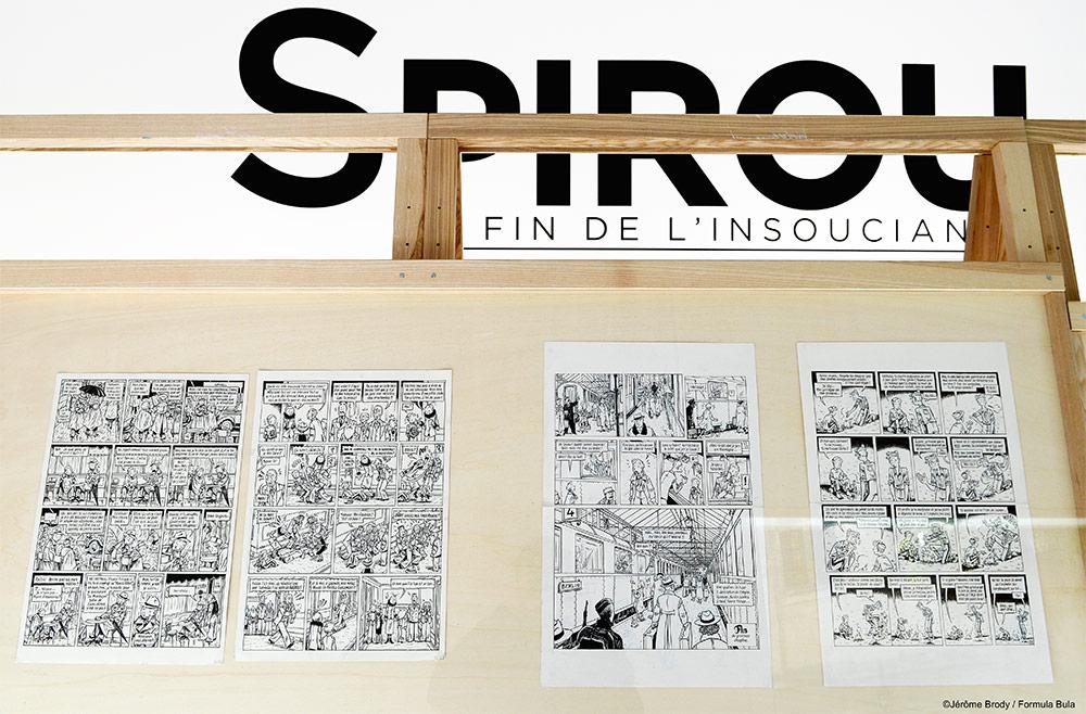 Expo «Spirou, la fin de l'insouciance» d'Émile Bravo - 1
