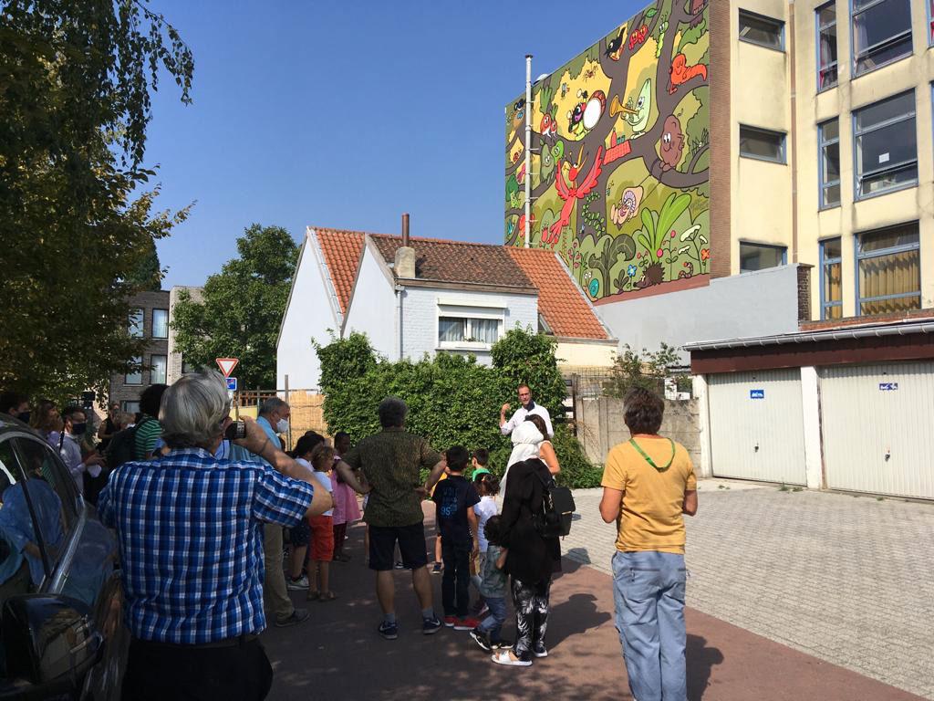 Petit Poilu : une fresque à Bruxelles - 2