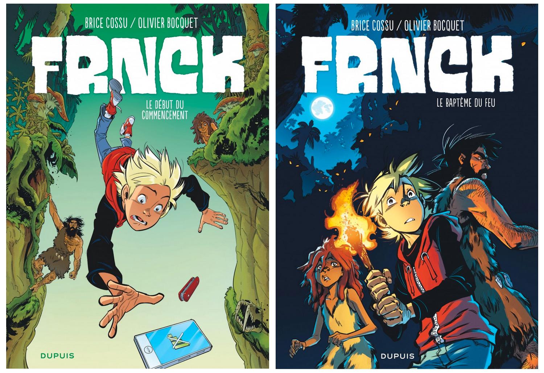 FRNCK, tome 1 (disponible en librairie) et tome 2 (à paraître le 25 août)
