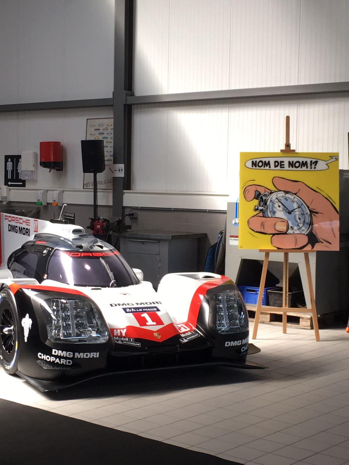 Conférence de presse Michel Vaillant chez Porsche Belgique - 0
