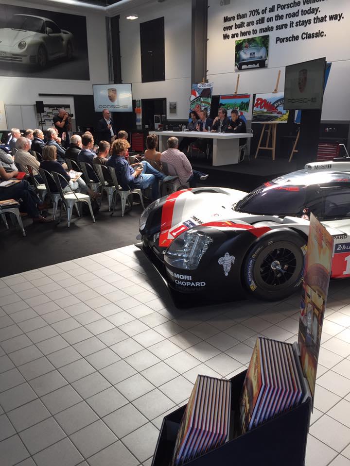 Conférence de presse Michel Vaillant chez Porsche Belgique - 3