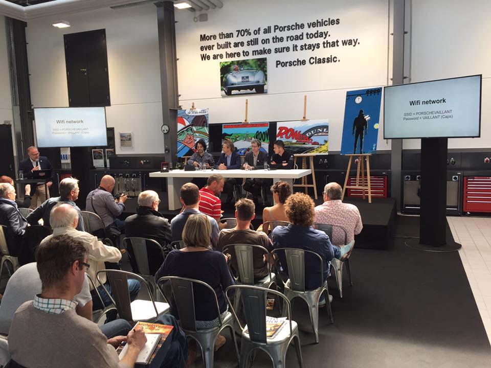 Conférence de presse Michel Vaillant chez Porsche Belgique - 5