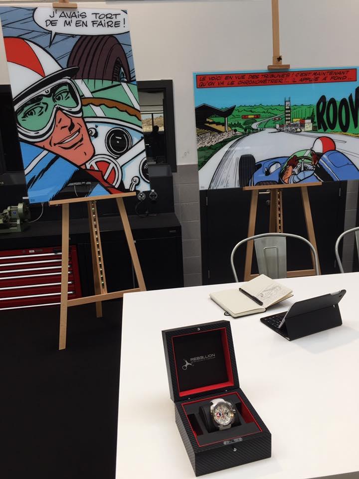 Conférence de presse Michel Vaillant chez Porsche Belgique - 6
