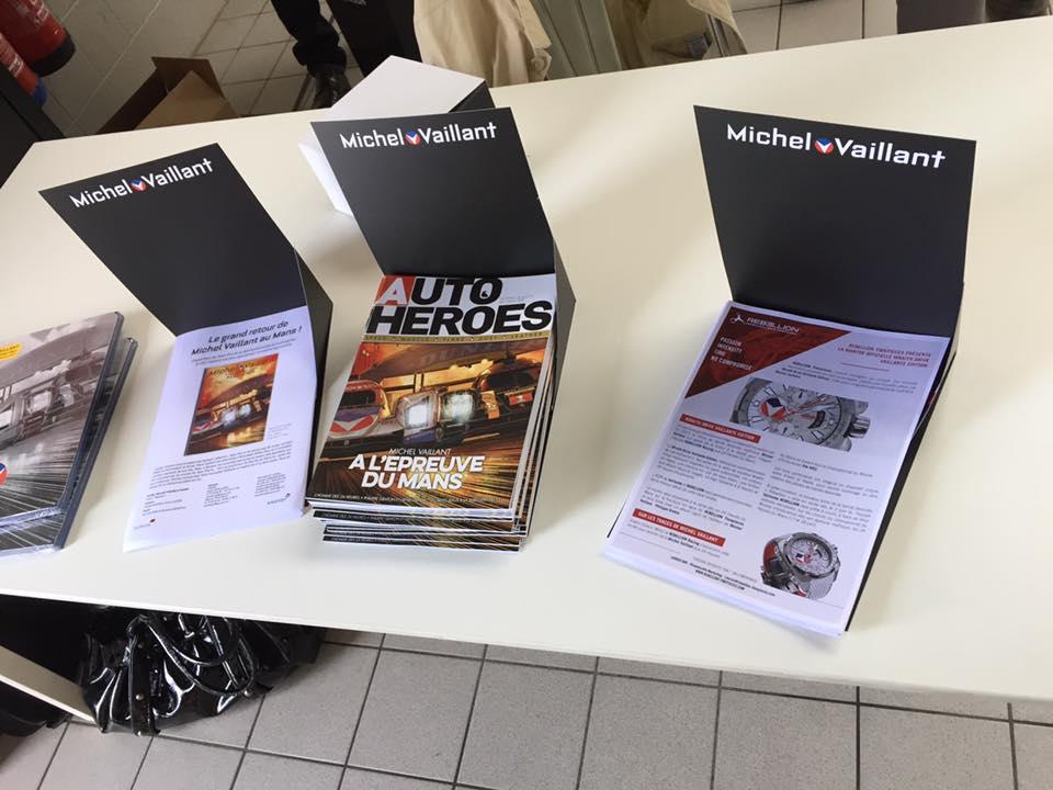 Conférence de presse Michel Vaillant chez Porsche Belgique - 7