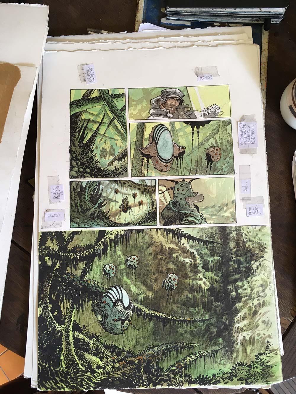 Orbital tome 8 : premières planches couleurs - 6