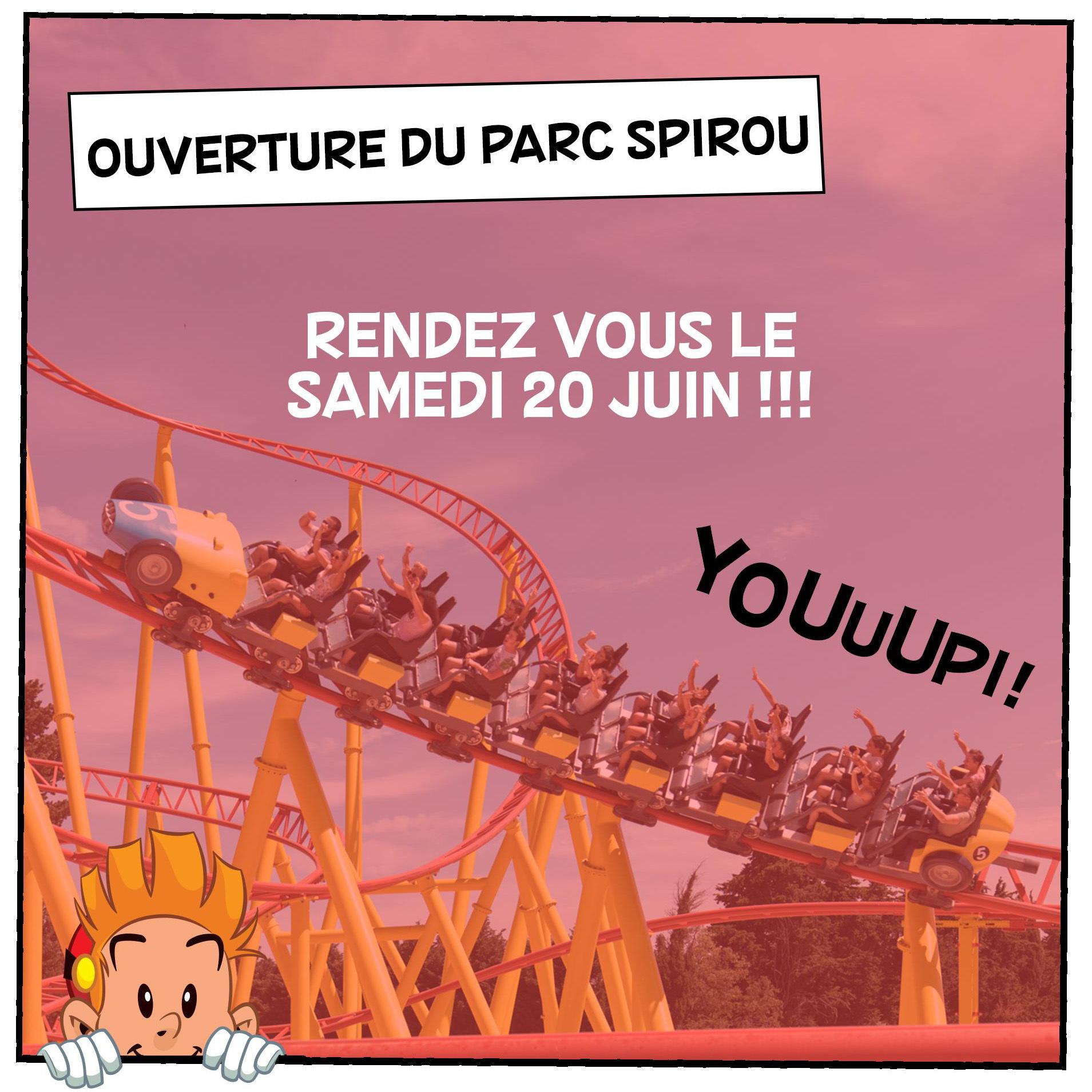 Nouvelle saison au Parc Spirou! - 0