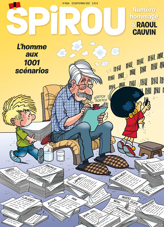 Le journal Spirou n°4354 - 0