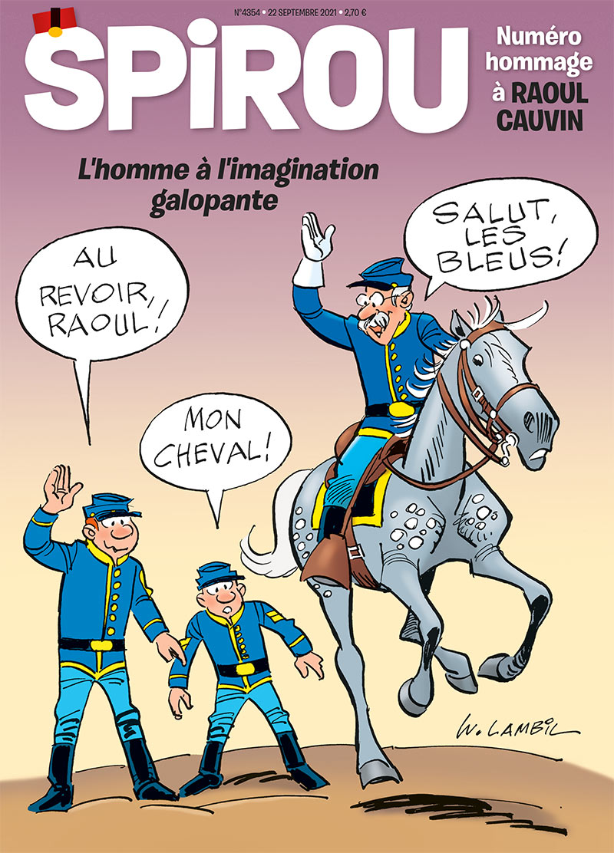 Le journal Spirou n°4354 - 1