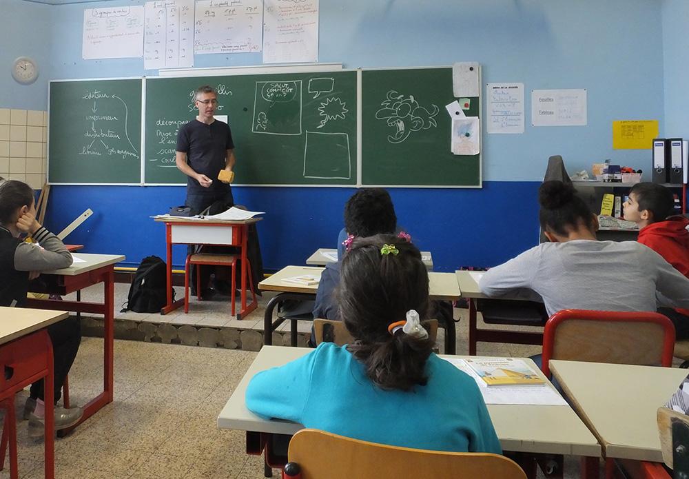 Sylvain Savoia et Fabrice Erre en mission ludo-pédagogique... - 1