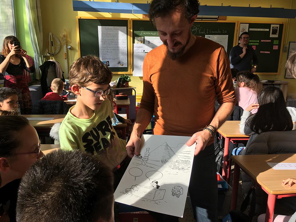 Sylvain Savoia et Fabrice Erre en mission ludo-pédagogique... - 4