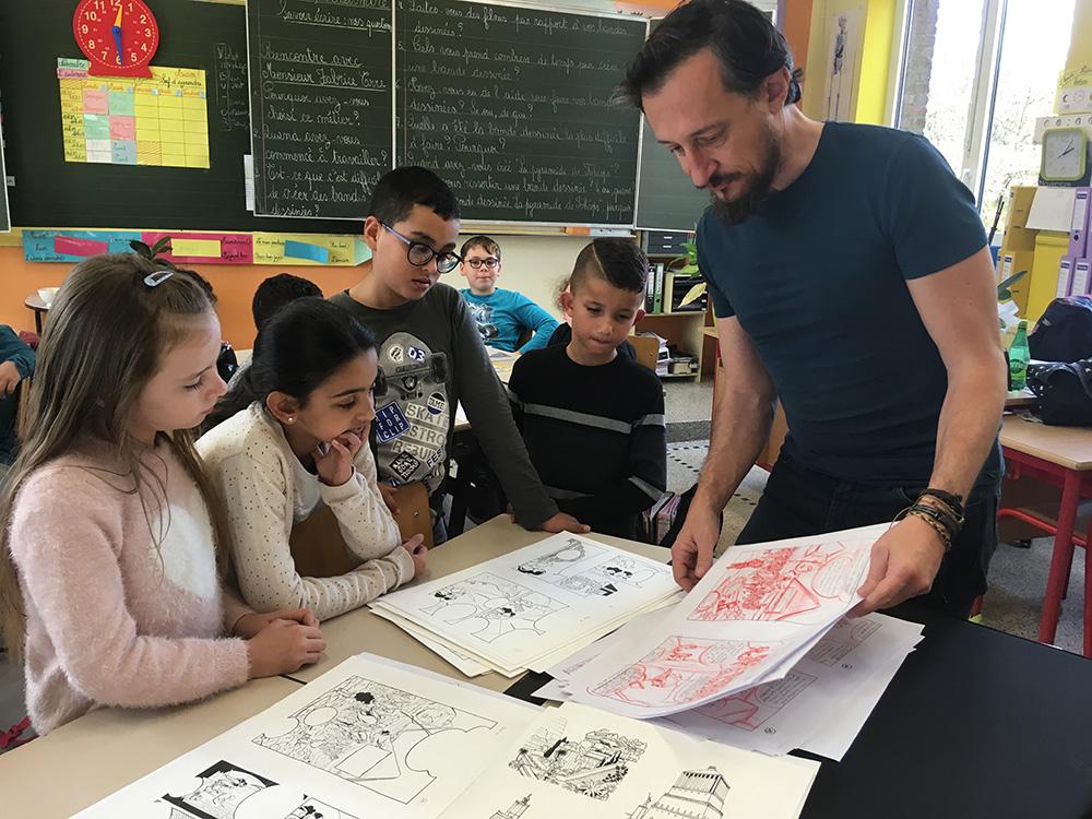 Sylvain Savoia et Fabrice Erre en mission ludo-pédagogique... - 12