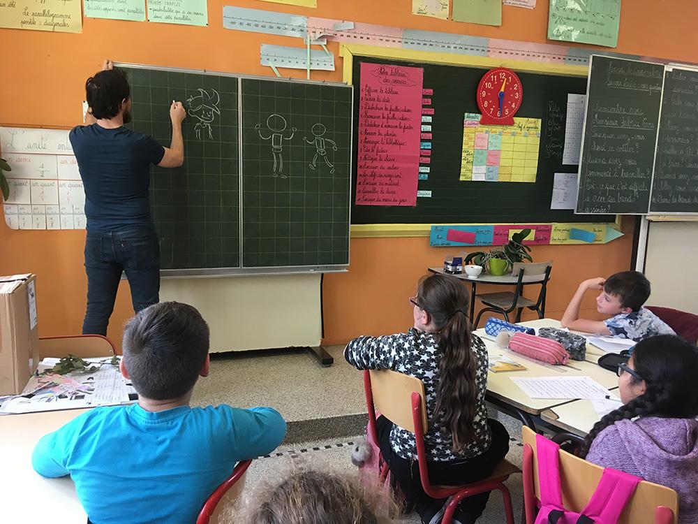 Sylvain Savoia et Fabrice Erre en mission ludo-pédagogique... - 14