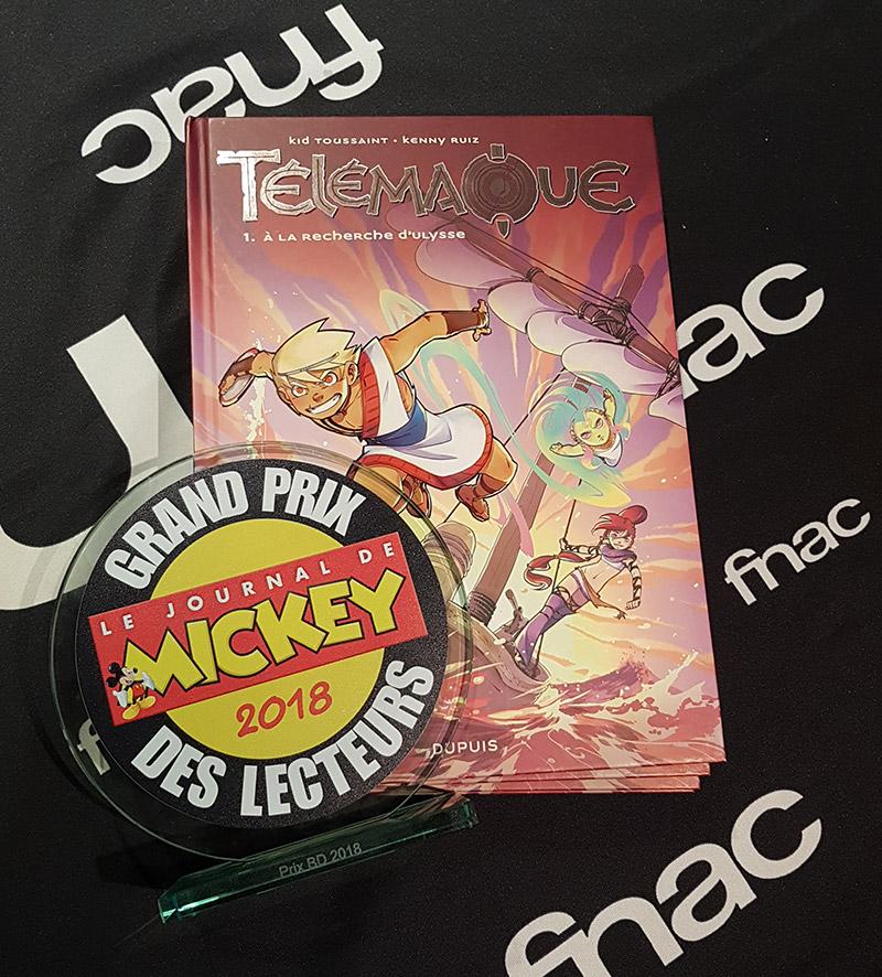 Télémaque Grand Prix BD des lecteurs du journal de Mickey! - 0