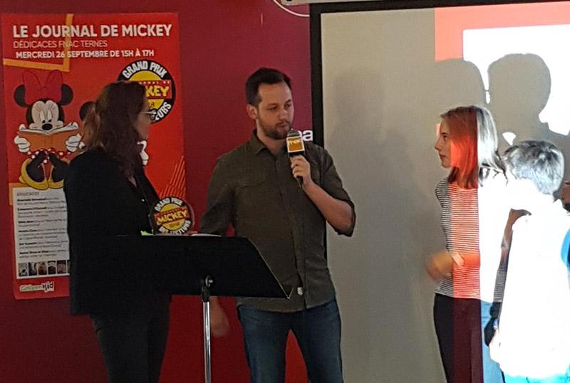 Télémaque Grand Prix BD des lecteurs du journal de Mickey! - 2