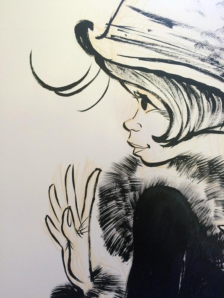 Une fresque réalisée par Laurent Verron - 2