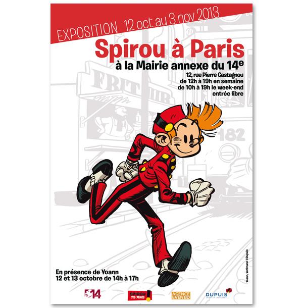 Spirou est à Paris