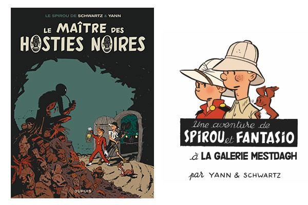 18/01 : Expo Le Spirou de Schwartz et Yann à Bruxelles (B)