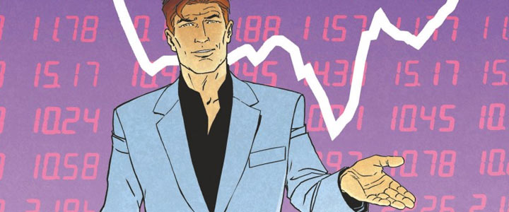 Giacometti et Bossard (« Largo Winch : Introduction à la finance ») en dédicace à Paris