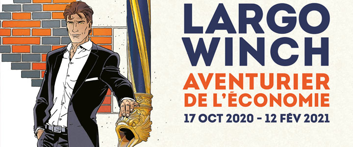 Expo « Largo Winch » à la Citéco de Paris