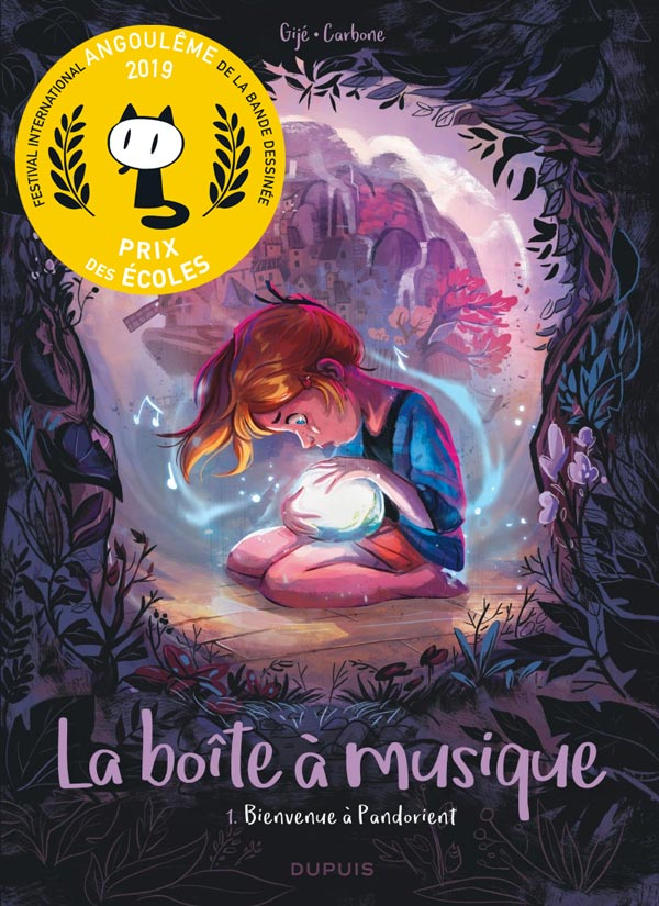 La boîte à musique Prix des Écoles à Angoulême!