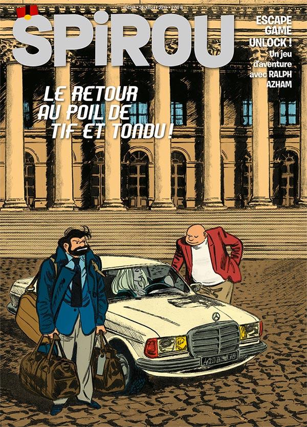Le journal Spirou n°4241
