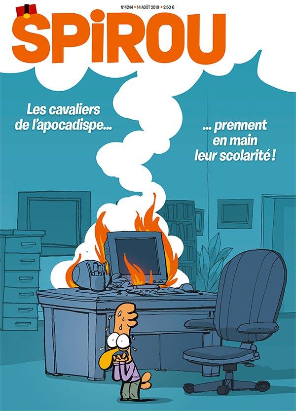 Le journal Spirou n°4244