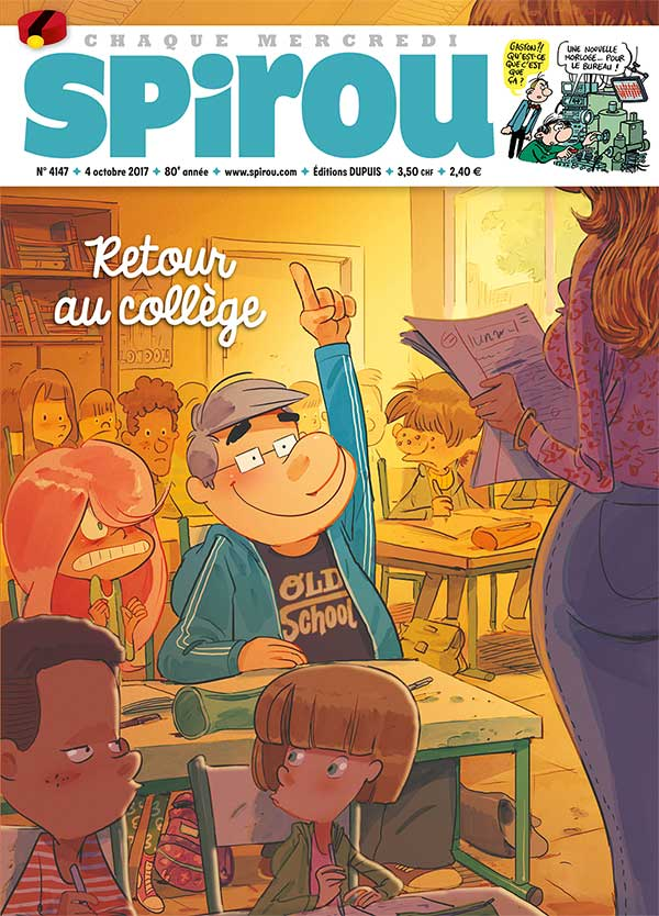 Le Journal Spirou n°4147