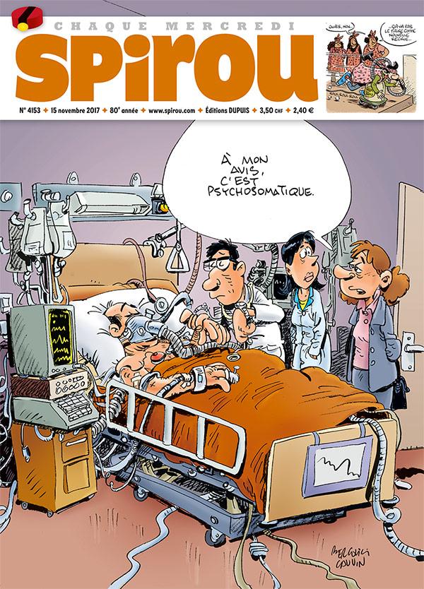 Le Journal Spirou n°4153