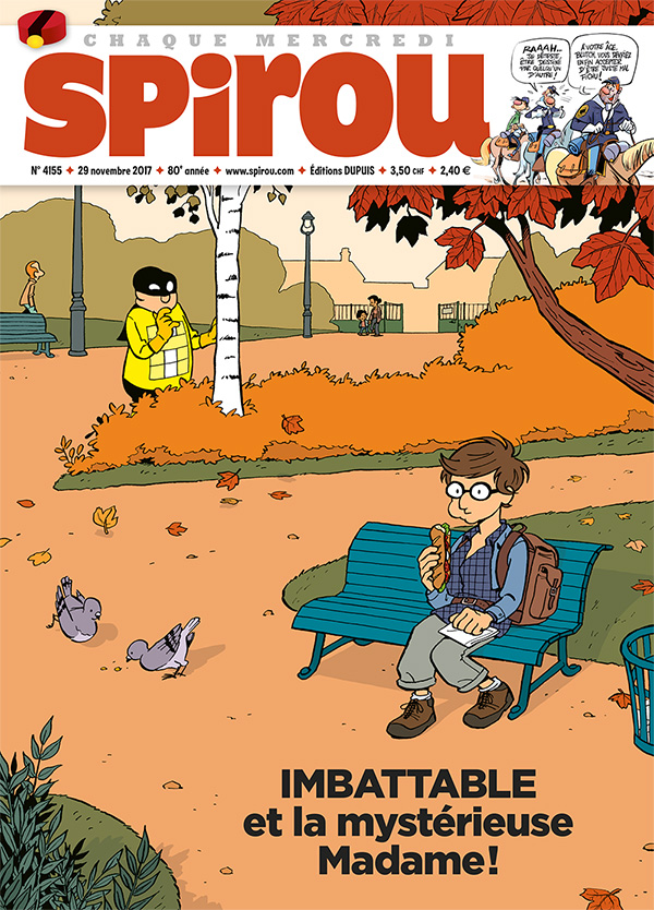 Le Journal Spirou n°4155