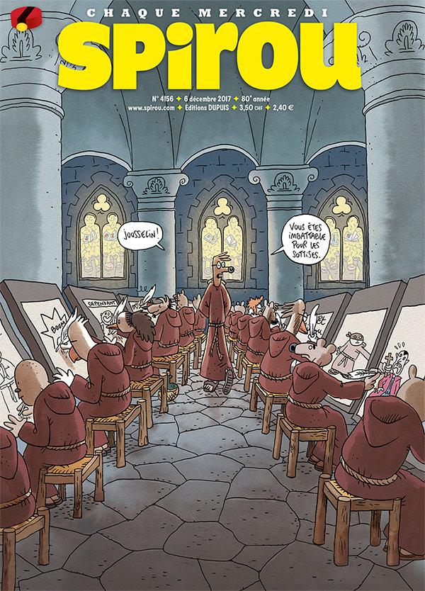 Le Journal Spirou n°4156