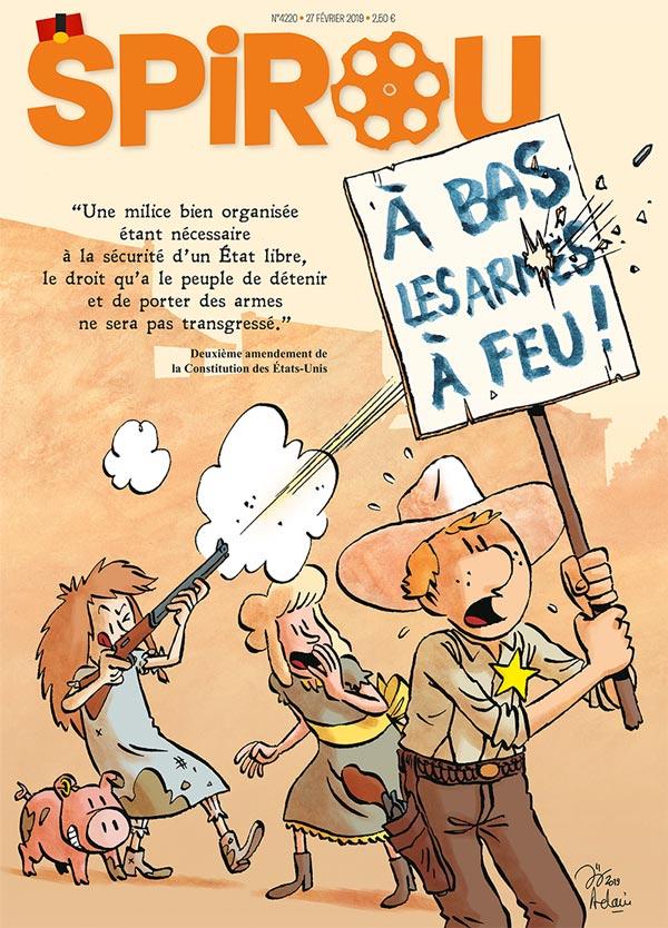 Le journal Spirou n°4220