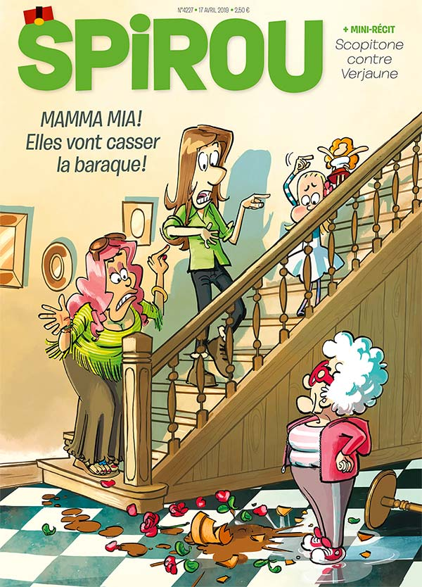 Le journal Spirou n°4227