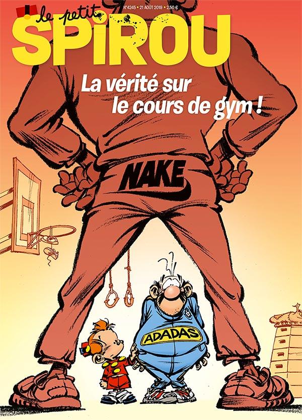 Le journal Spirou n°4245