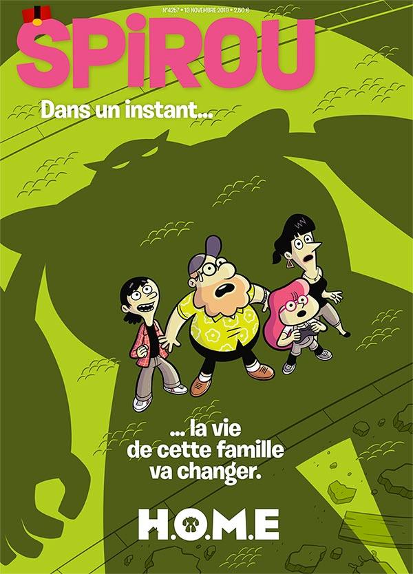 Le journal Spirou n°4257