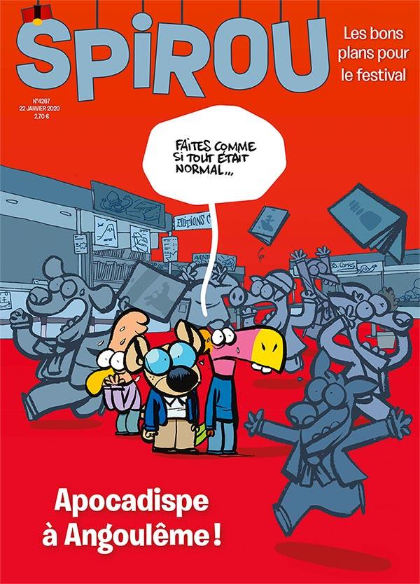 Le journal Spirou n°4267