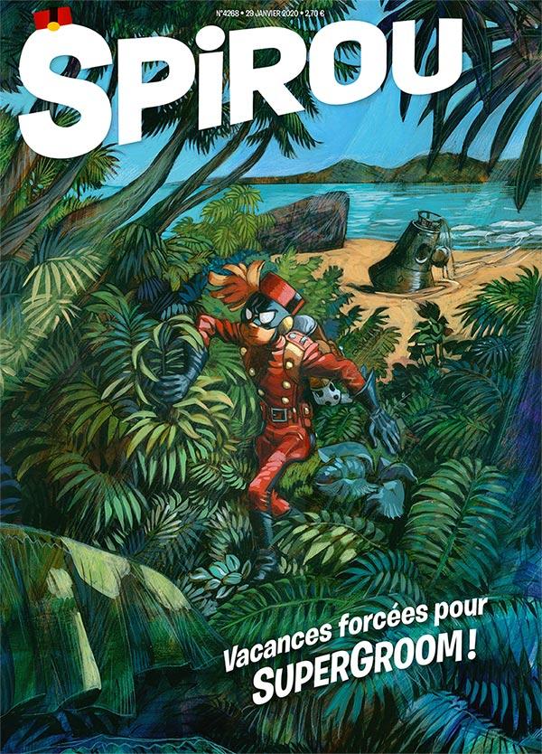 Le journal Spirou n°4268