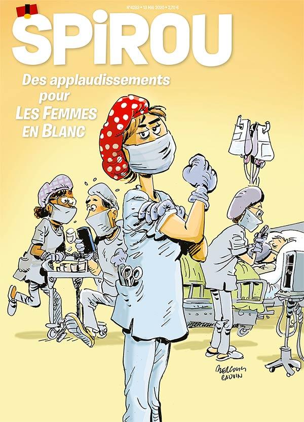 Le journal Spirou n°4283